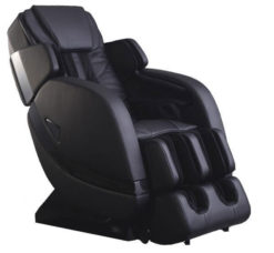 Infinity Escape Zero Gravity Massage Chair Black side view