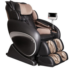 Osaki OS-4000 Zero Gravity Massage Chair Black and Beige